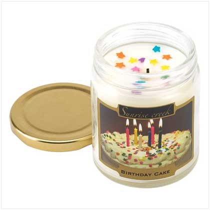 Birthday Cake Scent Candle